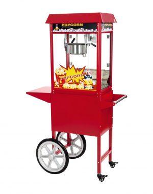Stroj na popcorn s vozíkom - 1600 W | RCPC-16E