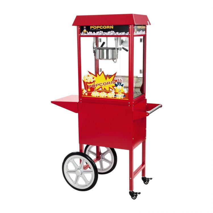 Stroj na popcorn s vozíkom - 1600 W   RCPC-16E