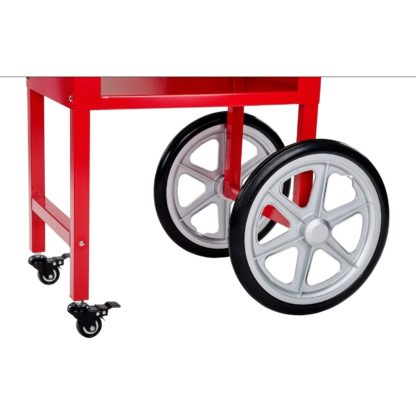 Stroj na popcorn s vozíkom 1600W 2