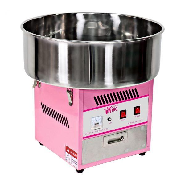 Stroj na cukrovú vatu - 52 cm - vrátane vozíka - s ochranným krytom 3