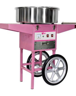 Stroj na cukrovú vatu s vozíkom - 52 cm 1