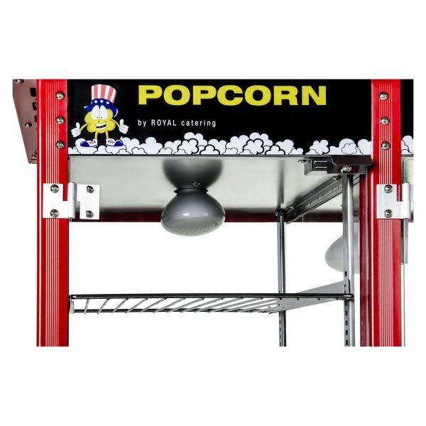 Stroj na popcorn s vyhrievanou vitrínou 1700W 6