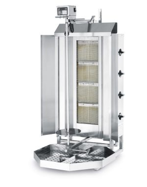Kebab/gyros gril plynový PROFI LINE - HENDI 226001 1