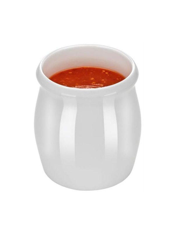 Porcelánový džbánok na omáčku 1l 2