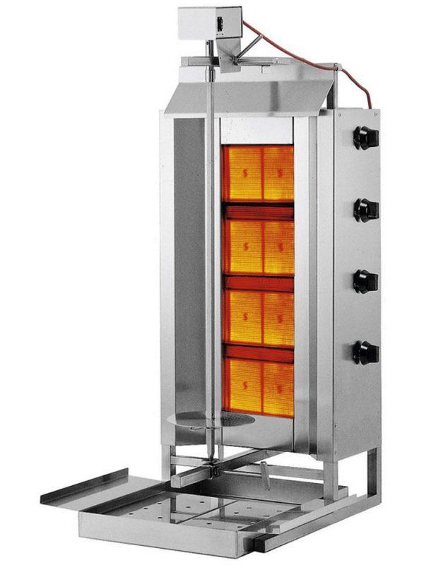 Kebab/gyros gril plynový PROFI LINE - HENDI 226001 2