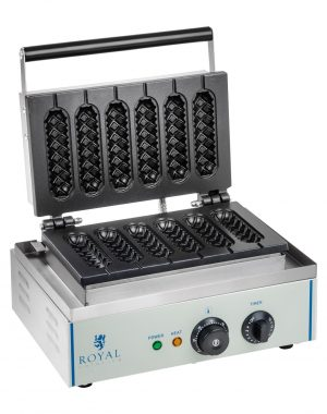 Vaflovač - Corn dog ROYAL CATERING RCWM-1500-S 1