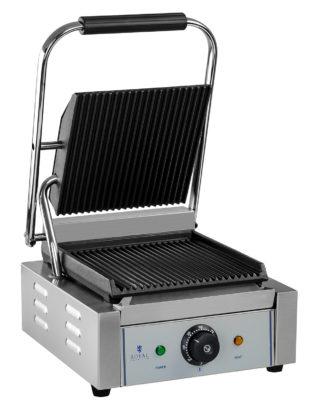 Elektrický kontaktný gril - ryhovaný, s výkonom 1800W - model RCCG -1800G