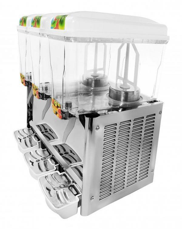 Elektrický dávkovač nápojov 3x12L SODA+ 2