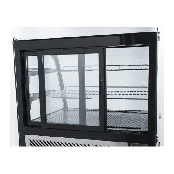 Chladiaca vitrína - nadpultová 120 L - CoolHead SODA+ 1
