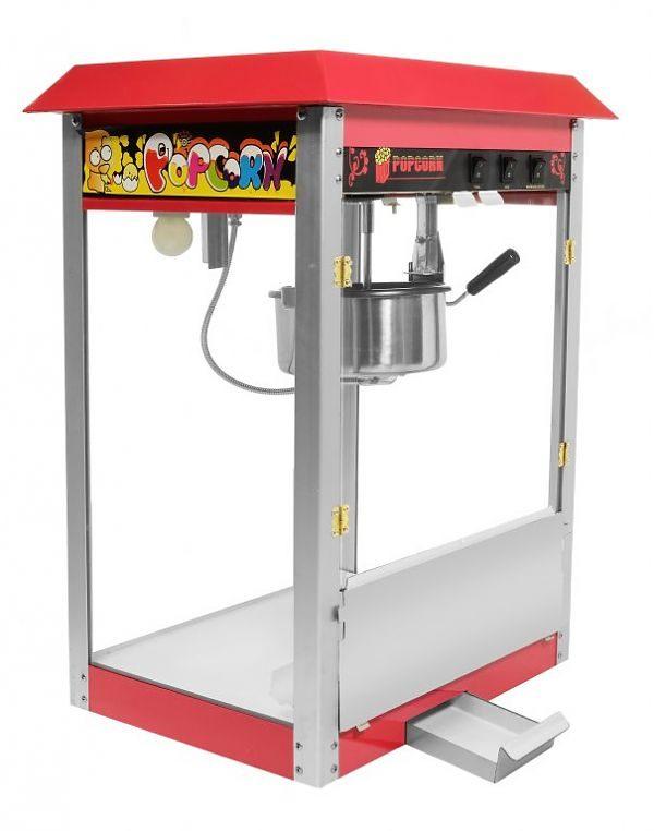 Stroj na popcorn - 8 Oz 1450W Soda Pluss 2