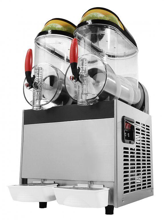 Výrobník ľadovej drte 2x10L GRANITOR, SODA+ 4