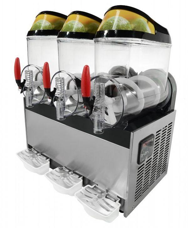 Výrobník ľadovej drte 3x10L GRANITOR, SODA+ 2