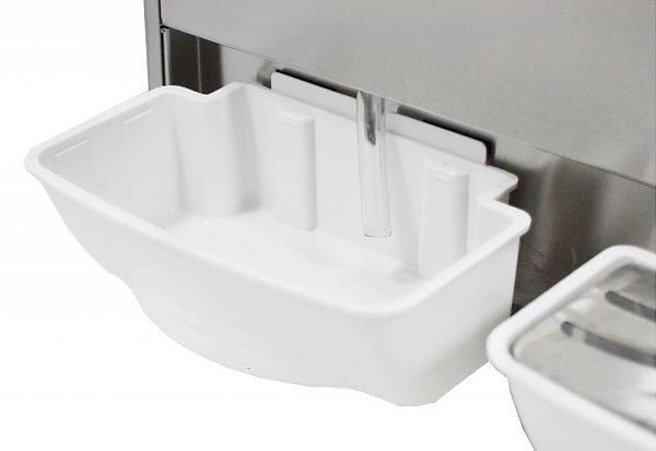 Výrobník ľadovej drte 2x10L GRANITOR, SODA+ 3