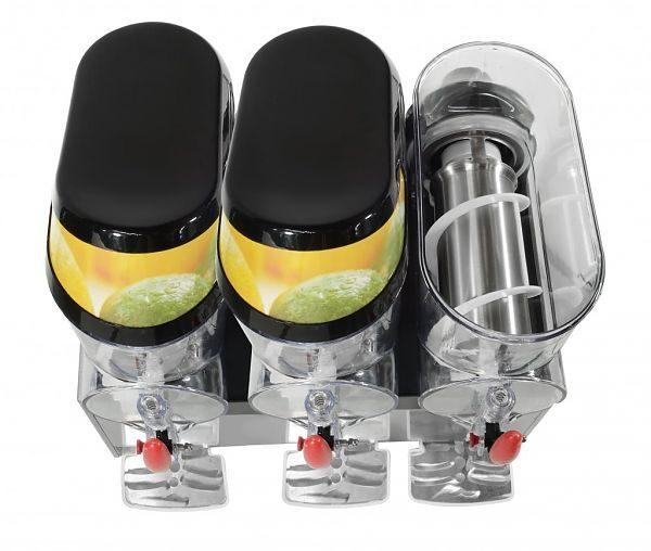 Výrobník ľadovej drte 3x10L GRANITOR, SODA+ 1