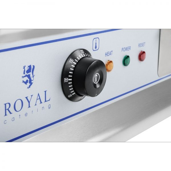 Elektrická platňa na grilovanie RCG 60 - 2 x 3,2 kW 3