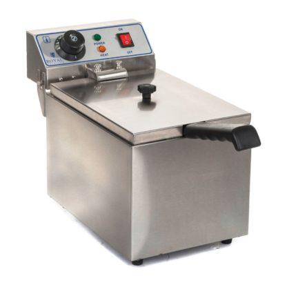 Elektrická fritéza 1 x 8 litrov RCEF-08EH 1