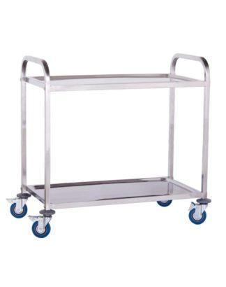 Servírovací vozík - 2 odkladacie plochy - 320kg (1079) - 3