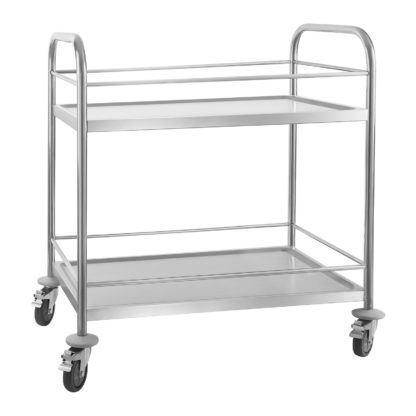 Servírovací vozík - 2 odkladacie plochy - 50kg (1353) - 1