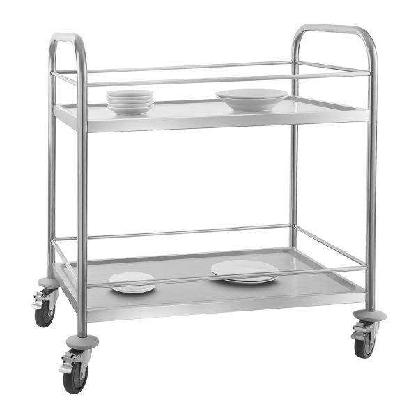 Servírovací vozík - 2 odkladacie plochy - 50kg (1353) - 2