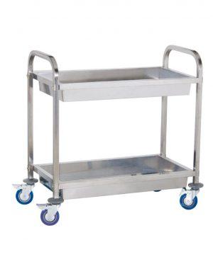 Servírovací vozík - 2 vaničky (1080) - komplet