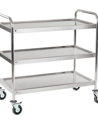 Servírovací vozík - 3 odkladacie plochy - 480 kg (1230) - 4