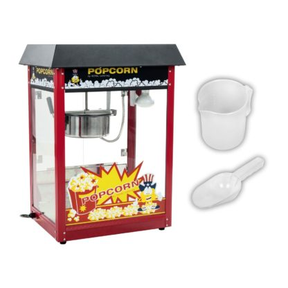Stroj na popcorn - 1600W - (čierny) - 8
