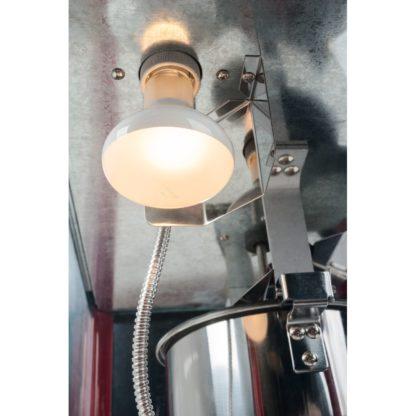 Stroj na popcorn - 1600W - (čierny) - 7