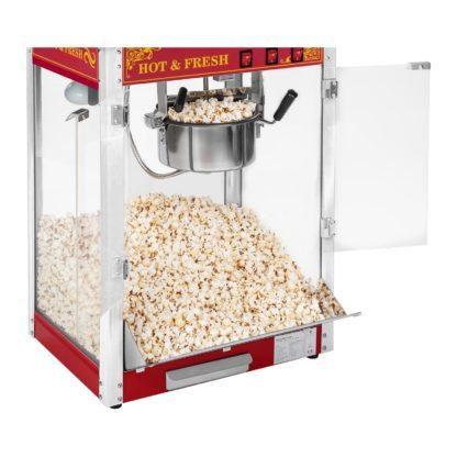 Stroj na popcorn - RETRO dizajn (červený) - RCPS-16.3 - 3