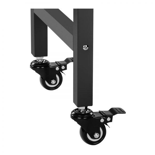 Stroj na popcorn vrátane vozíka - RETRO dizajn (čierny) - RCPW.16.2 - 11