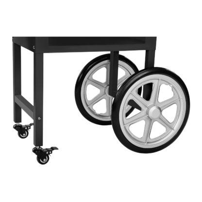 Stroj na popcorn vrátane vozíka - RETRO dizajn (čierny) - RCPW.16.2 - 10