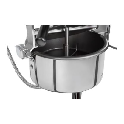 Stroj na popcorn vrátane vozíka - RETRO dizajn (čierny) - RCPW.16.2 - 8