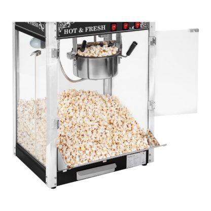 Stroj na popcorn vrátane vozíka - RETRO dizajn (čierny) - RCPW.16.2 - 3