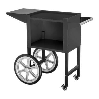 Stroj na popcorn vrátane vozíka - RETRO dizajn (čierny) - RCPW.16.2 - 9