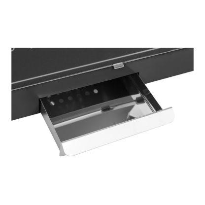 Stroj na popcorn vrátane vozíka - RETRO dizajn (čierny) - RCPW.16.2 -7