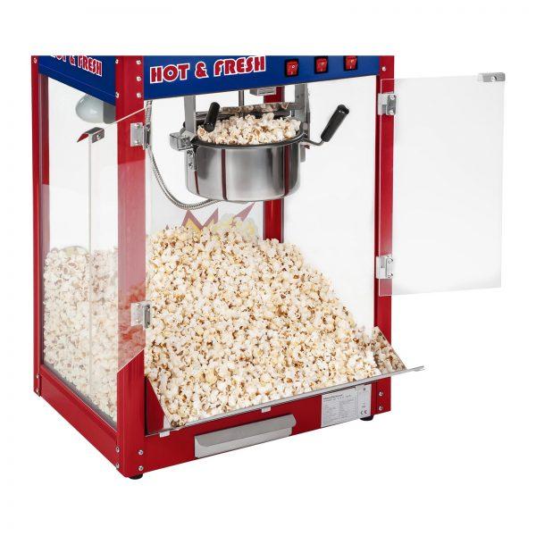 Stroj na popcorn vrátane vozíka - americký dizajn (červený) - RCPW-16.1 -3
