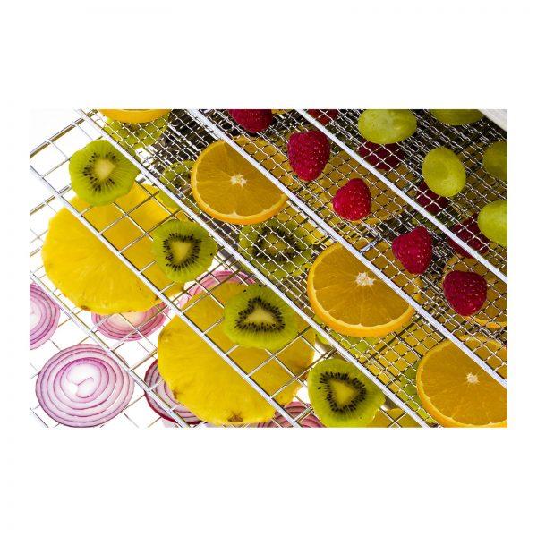 Sušička ovocia, potravín, 10 poschodí - 1000W (1700) - 6
