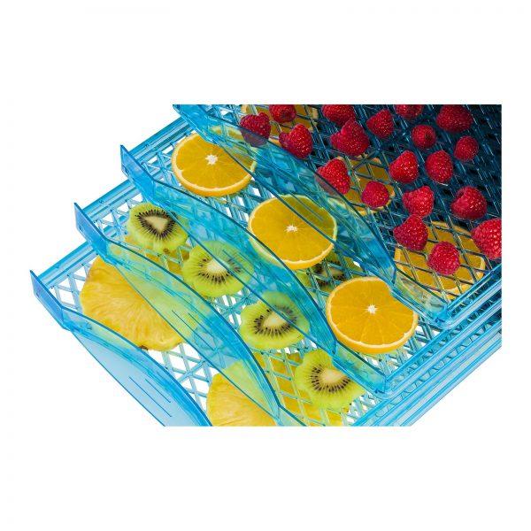 Sušička ovocia, potravín - 6 poschodová, 630W (1703) - 17