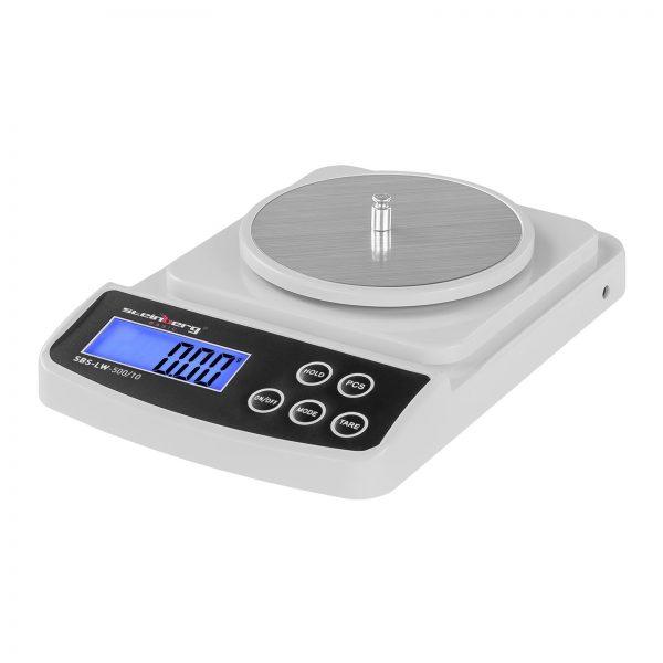 Digitálne presné váhy - 500 g 0,01 g - Basic - SBS-LW-500 10 (3142) 1