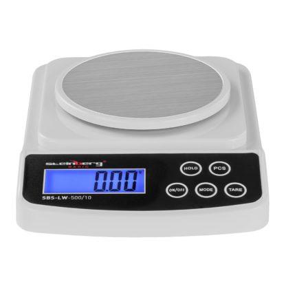 Digitálne presné váhy - 500 g 0,01 g - Basic - SBS-LW-500 10 (3142) 2