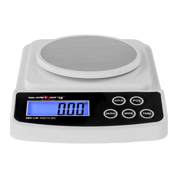 Digitálne presné váhy - 500 g0,01 g - Basic - ochrana pred vetrom - SBS-LW-50010 WS (3140) 2