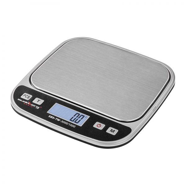 Digitálne stolné váhy - 3 kg0,1 g - SBS-TW-3000100G (3144) 2