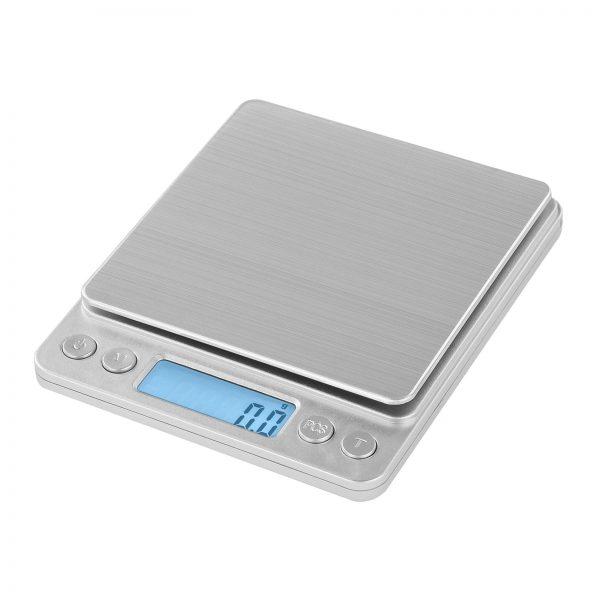 Digitálne stolné váhy - 500 g0,01 g - 10 x 10 cm - SBS-TW-50010 (3143) 2