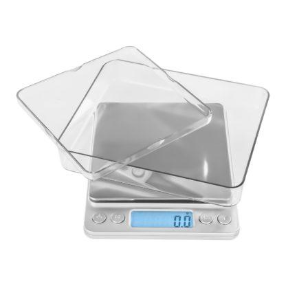 Digitálne stolné váhy - 500 g0,01 g - 10 x 10 cm - SBS-TW-50010 (3143) 5