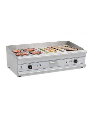Elektrická platňa na grilovanie RCG100 - 2 x 3,2kW
