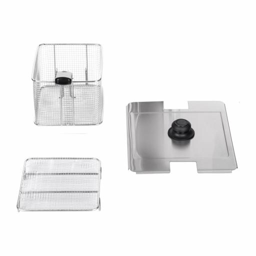 Fritéza - 1 x 13 litrov - EGO termostat (3)
