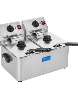 Fritéza - 2 x 8 litrov - EGO termostat 1