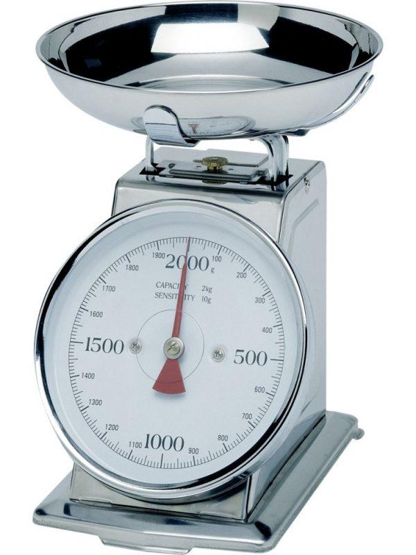 Gastronomická váha s miskou 2 kg HENDI 980033 1