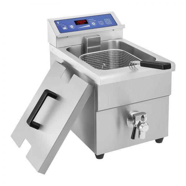 Indukčná fritéza 1x10L, 60 – 190 °C 4