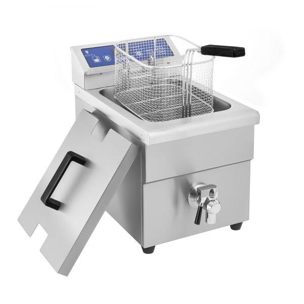 Indukčná fritéza 1x10L, 60 – 190 °C 5