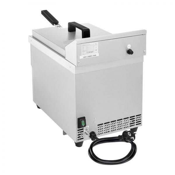 Indukčná fritéza 1x10L, 60 – 190 °C 7